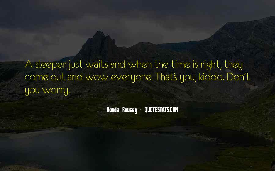 Time Waits For None Quotes #65241
