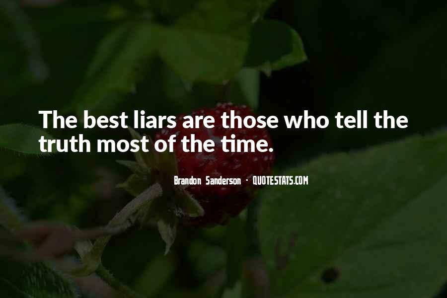 Time Will Tell Truth Quotes #719761