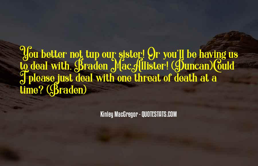 Time With Sister Quotes #803974