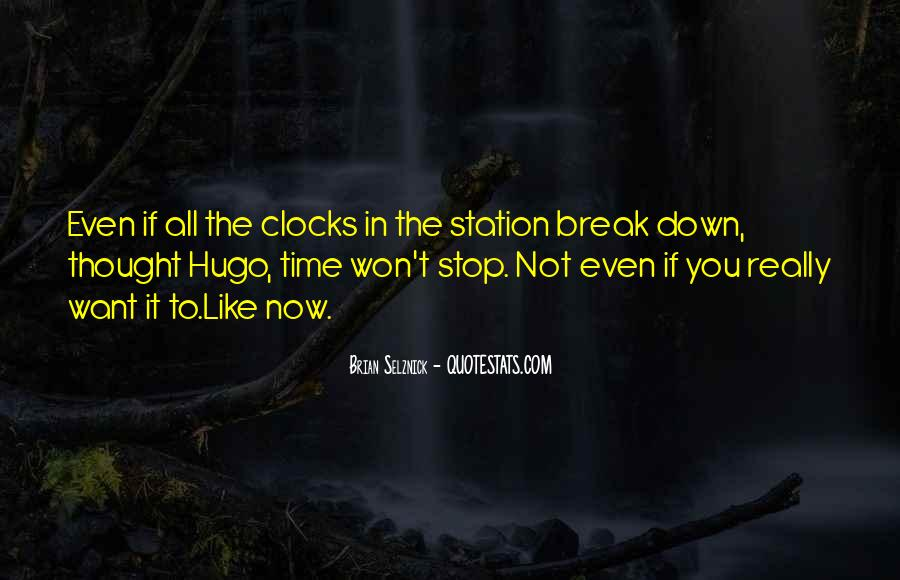 Time Won't Stop Quotes #1355704