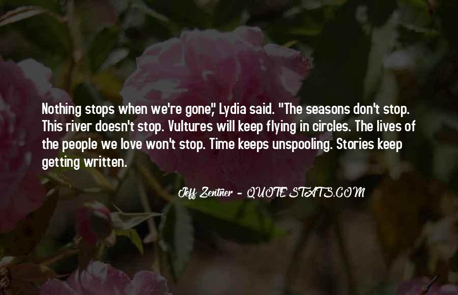 Time Won't Stop Quotes #1509179