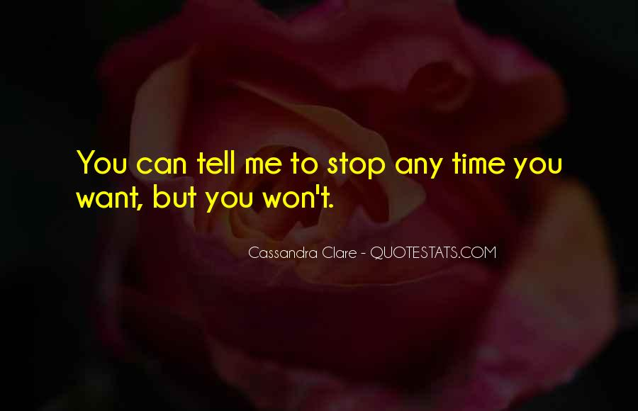 Time Won't Stop Quotes #1815256