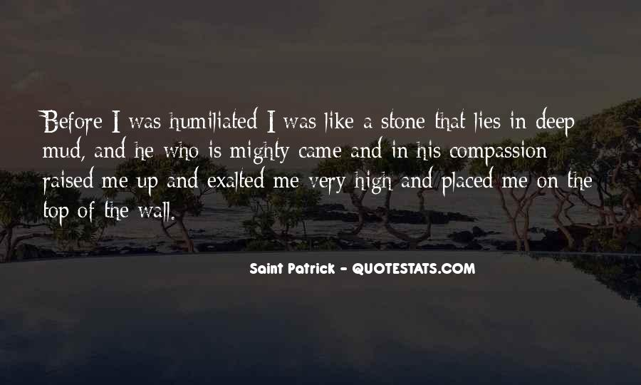 Quotes About Being High And Mighty #1803979