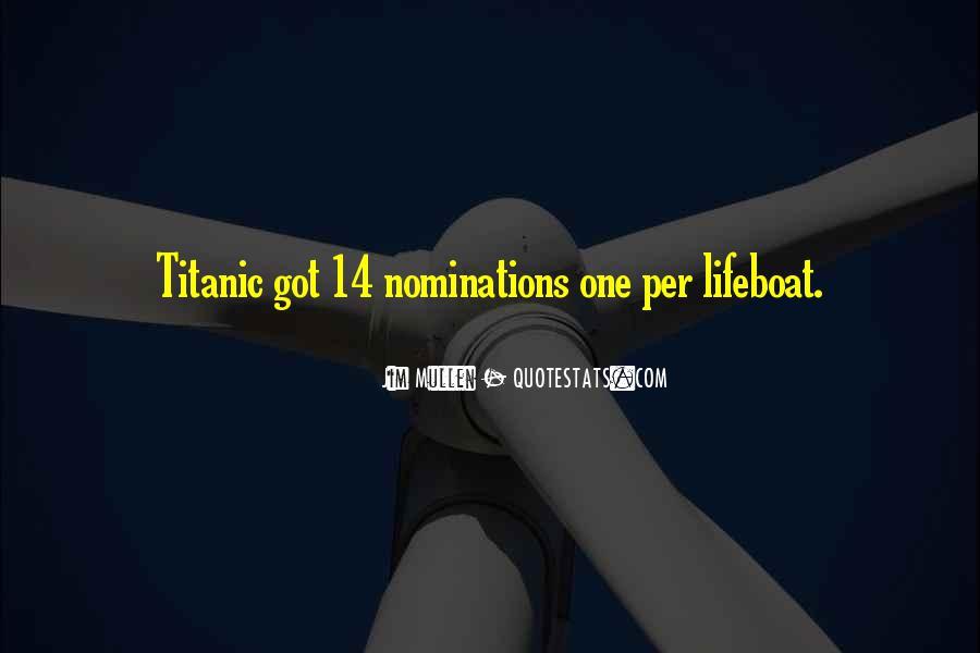 Titanic Lifeboat Quotes #704339