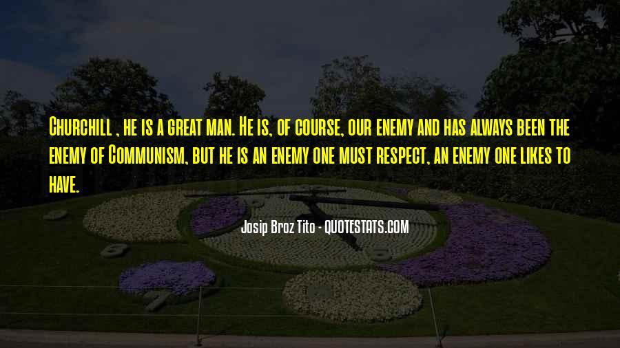 Tito's Quotes #538605