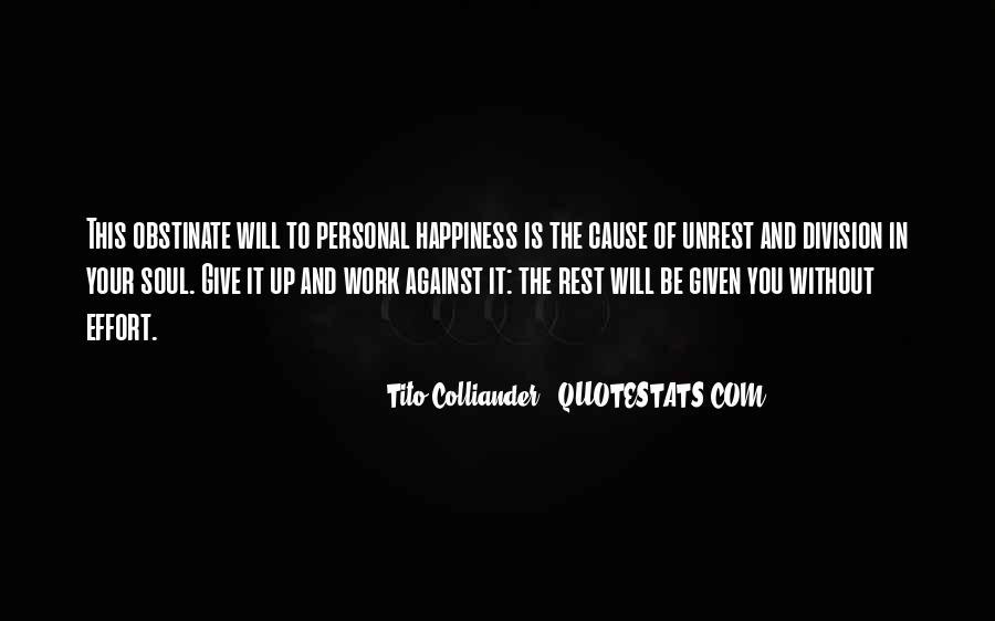Tito's Quotes #991418