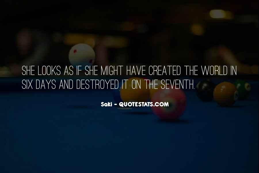 Quotes About Saki #1472576