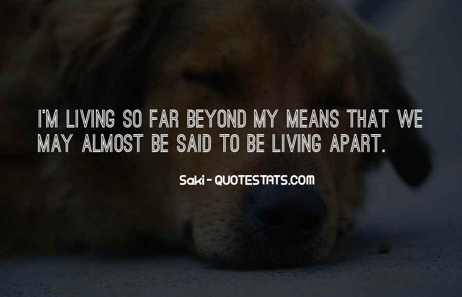Quotes About Saki #294444