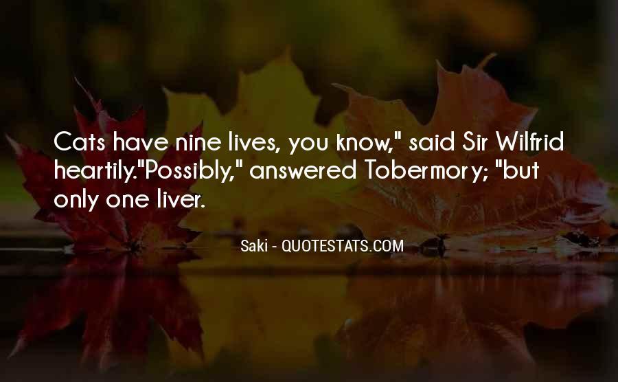 Quotes About Saki #348220