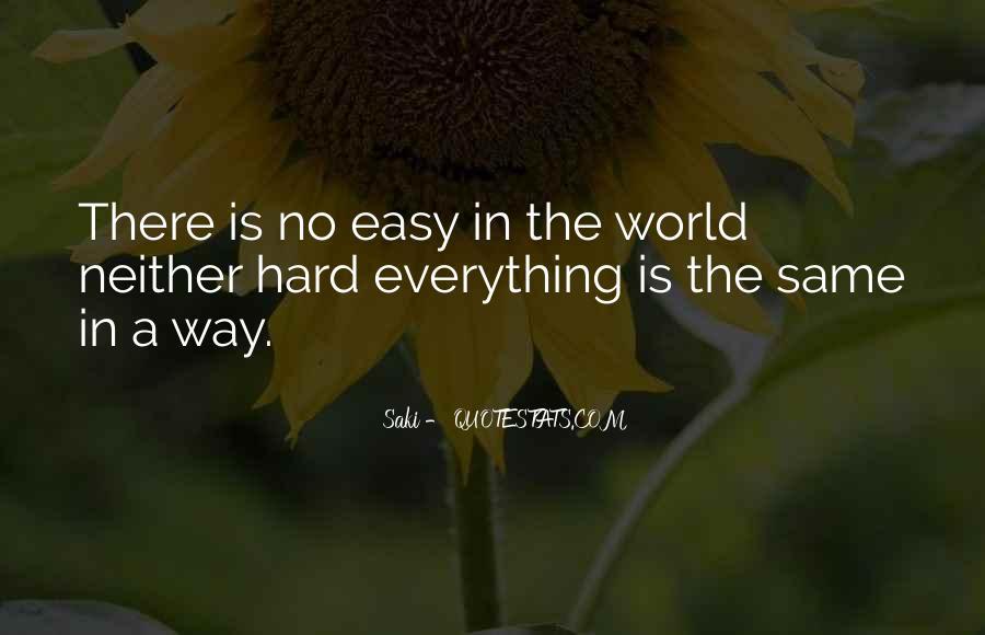 Quotes About Saki #634642