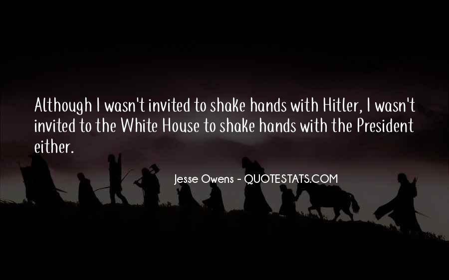 Quotes About Jesse Owens #1144842