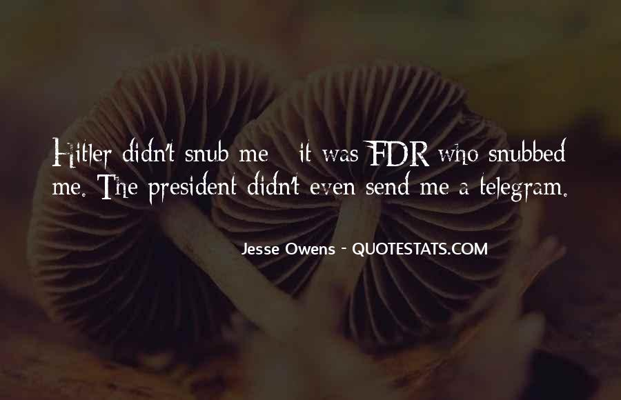 Quotes About Jesse Owens #1251742