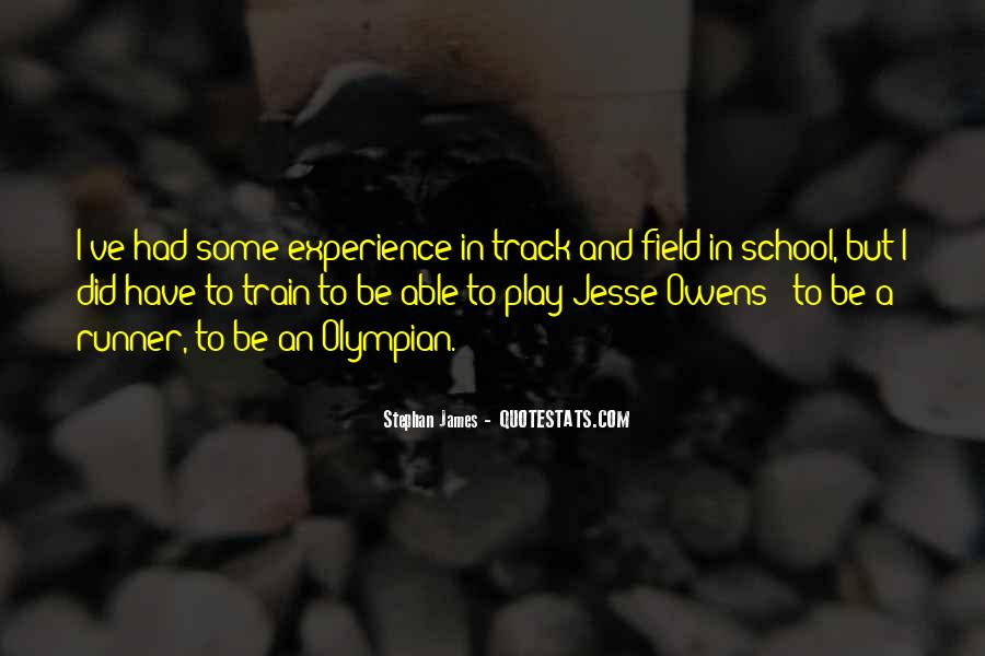 Quotes About Jesse Owens #1276863