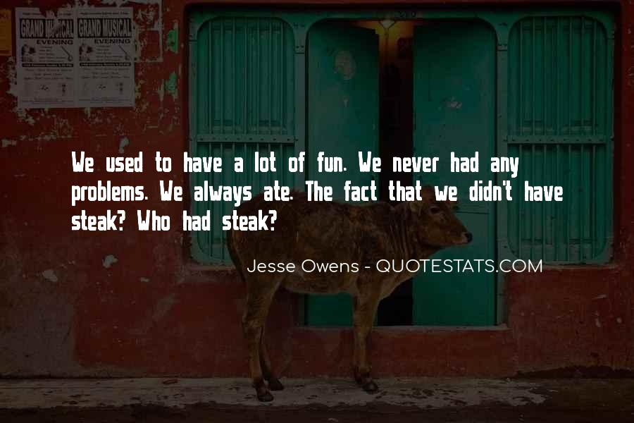 Quotes About Jesse Owens #1348504