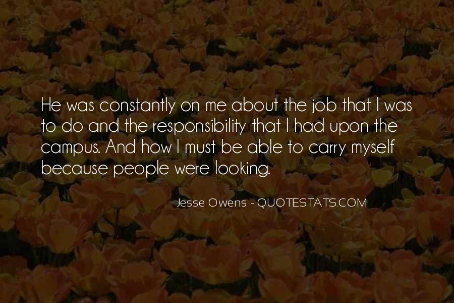 Quotes About Jesse Owens #1520290