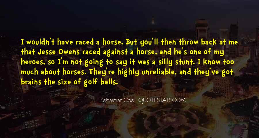 Quotes About Jesse Owens #1592029
