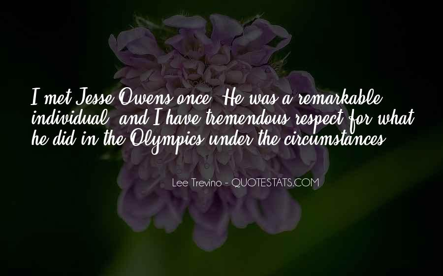Quotes About Jesse Owens #1614912