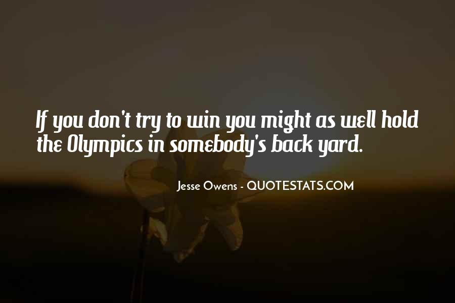 Quotes About Jesse Owens #1675480