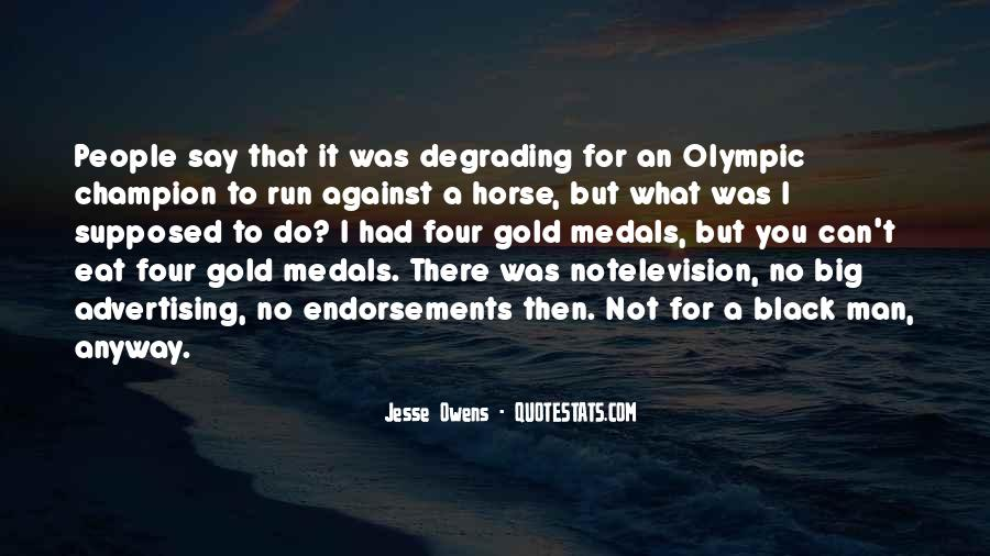 Quotes About Jesse Owens #207234