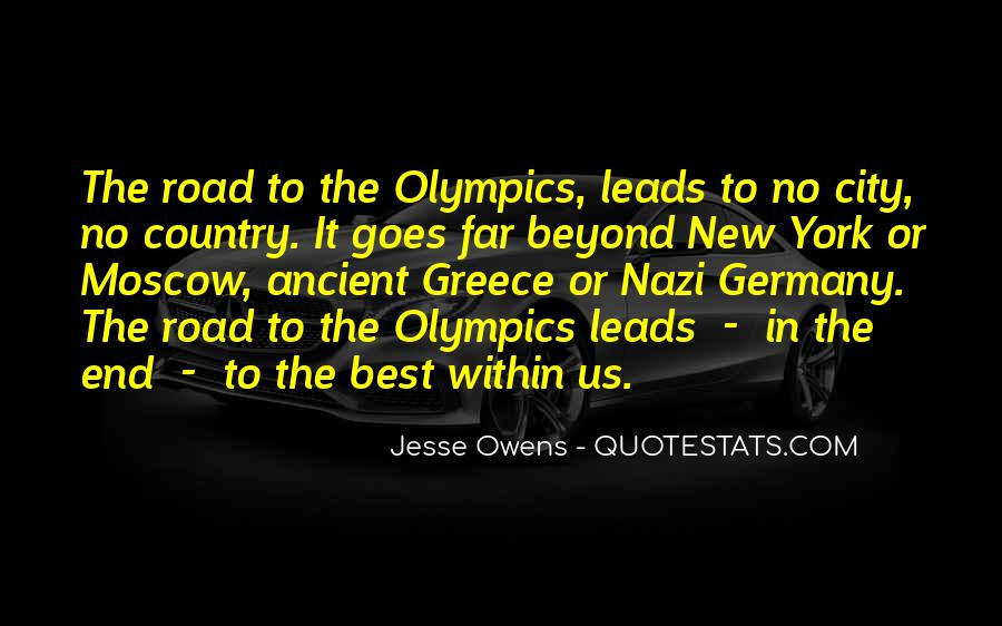 Quotes About Jesse Owens #270895