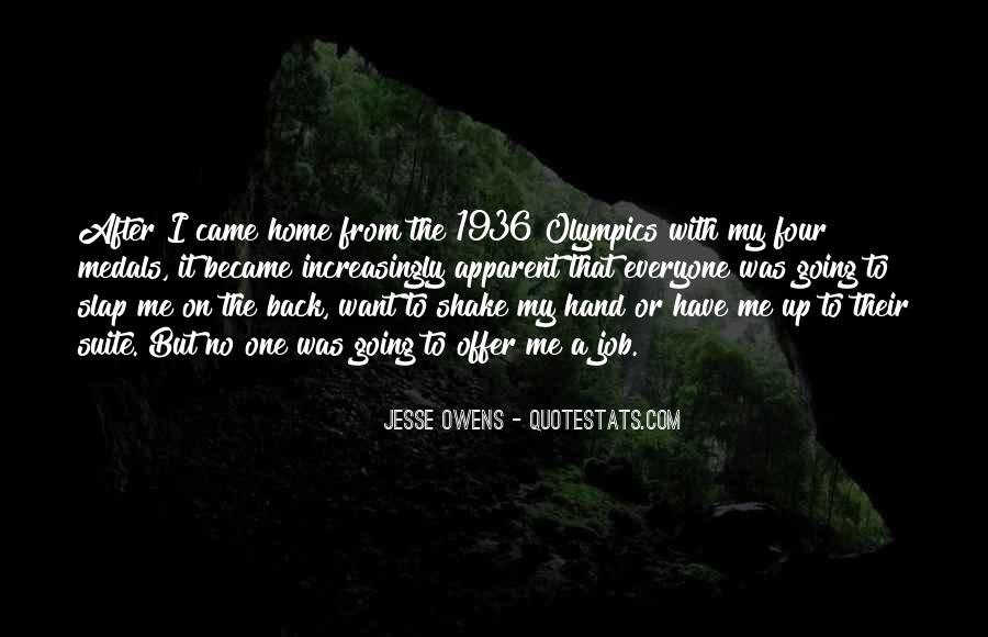 Quotes About Jesse Owens #755562