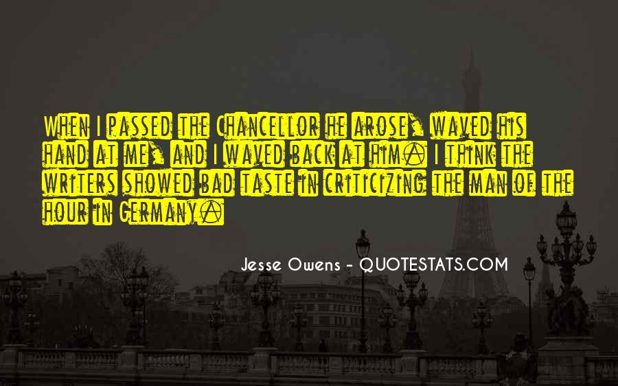 Quotes About Jesse Owens #784915