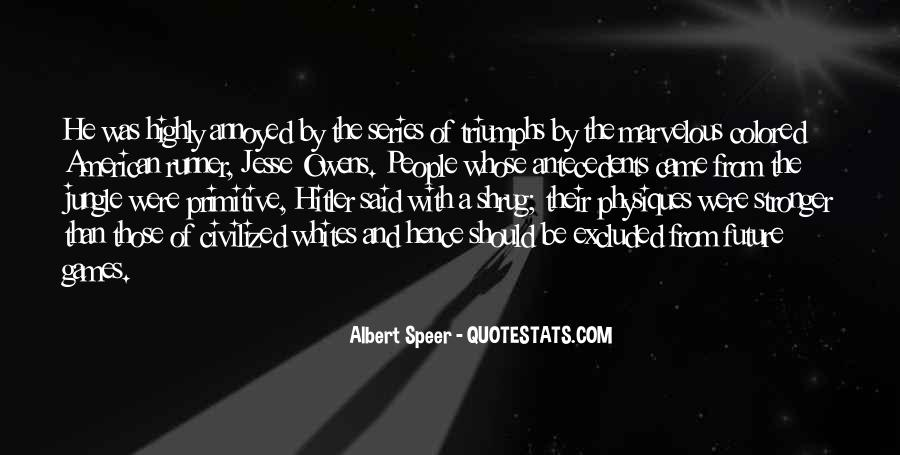Quotes About Jesse Owens #91102