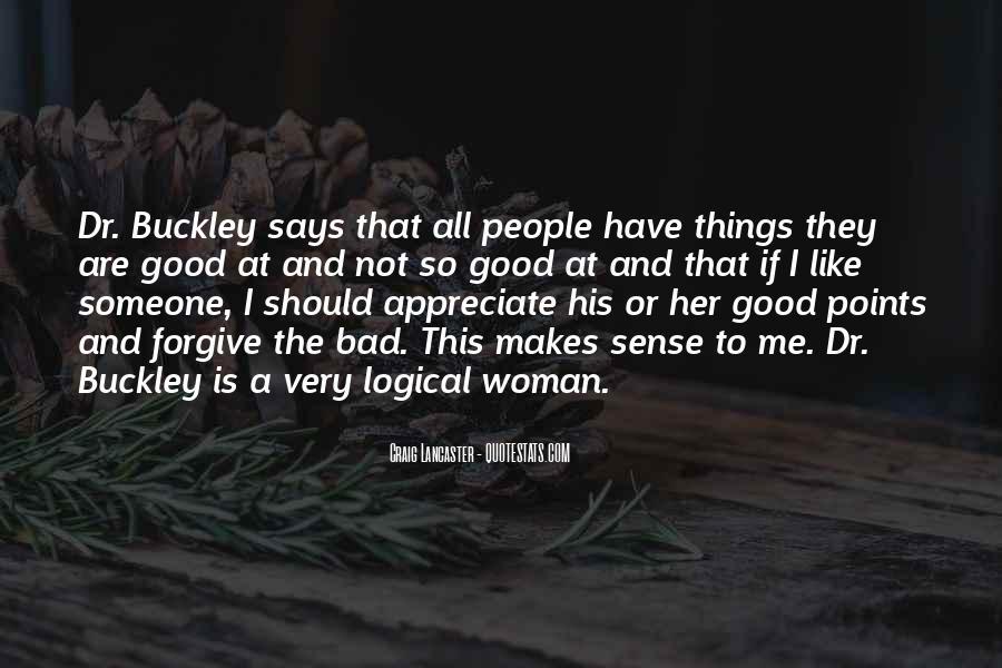 To Appreciate Someone Quotes #1114445