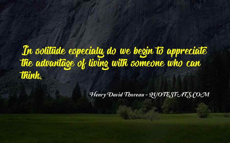 To Appreciate Someone Quotes #1483758