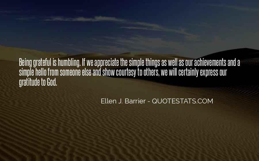 To Appreciate Someone Quotes #247283