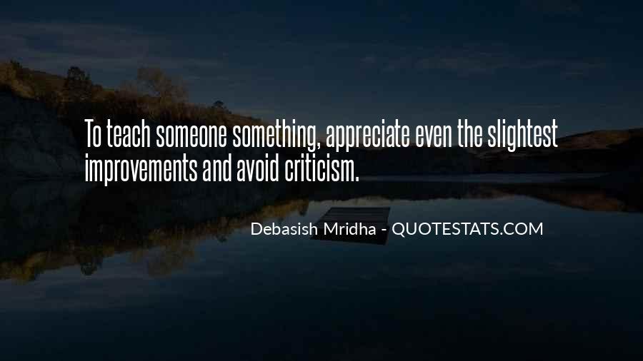 To Appreciate Someone Quotes #77281