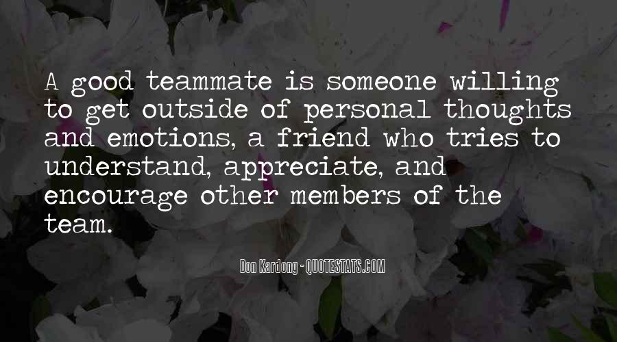 To Appreciate Someone Quotes #838903