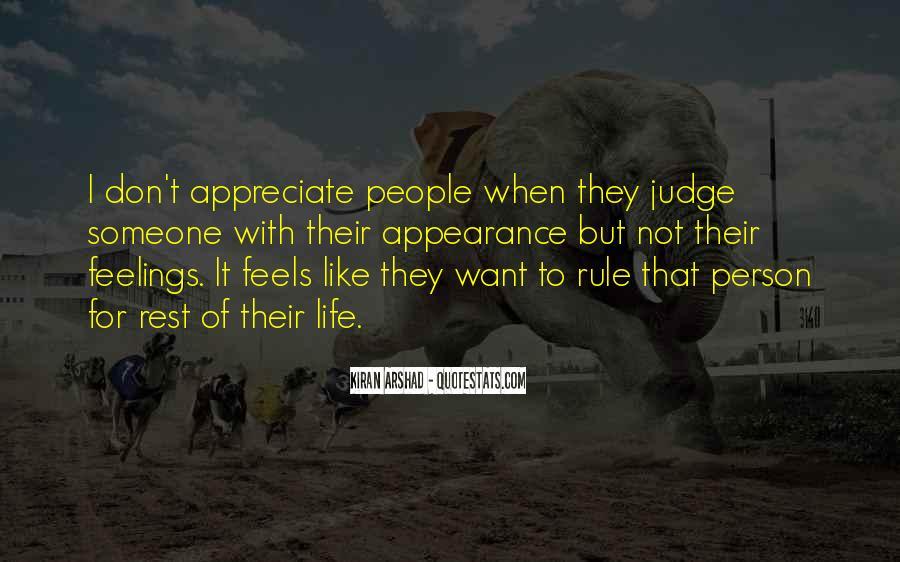 To Appreciate Someone Quotes #997592