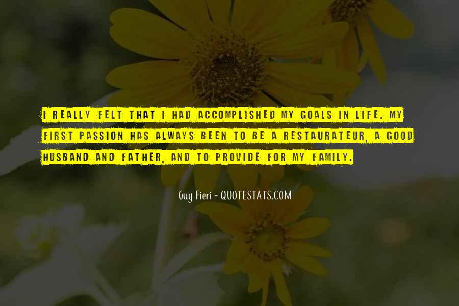 To Be A Good Father Quotes #1830048