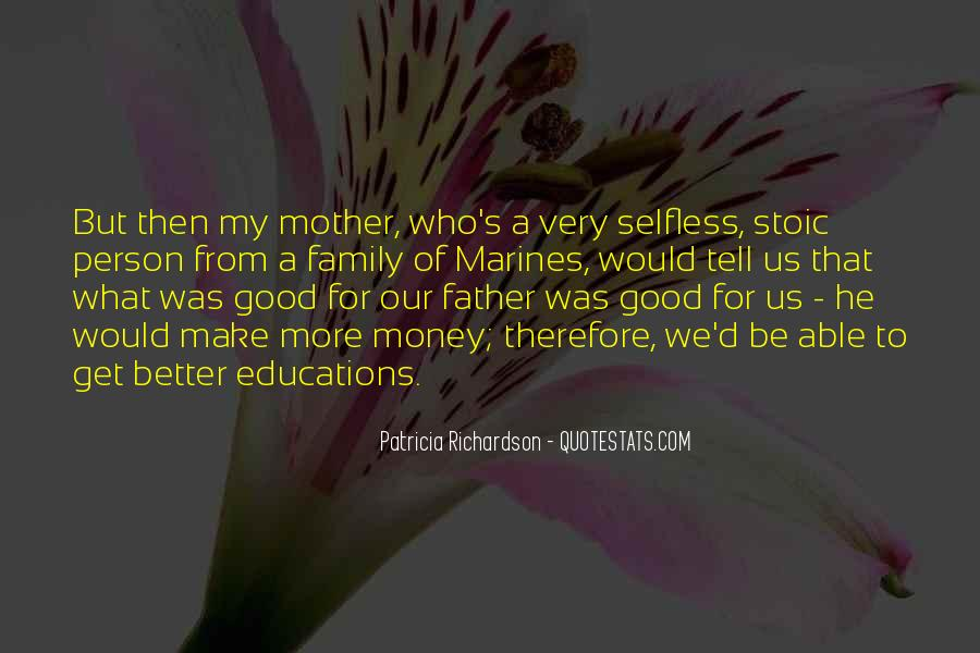 To Be A Good Father Quotes #529518