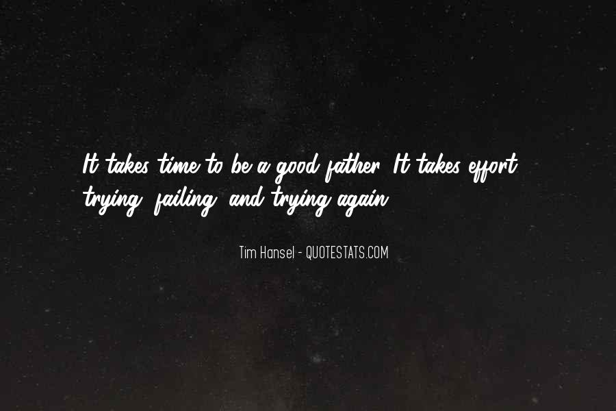 To Be A Good Father Quotes #691839