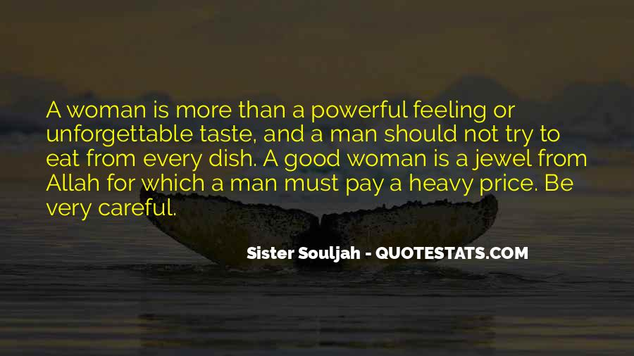 To Be A Good Woman Quotes #1015084