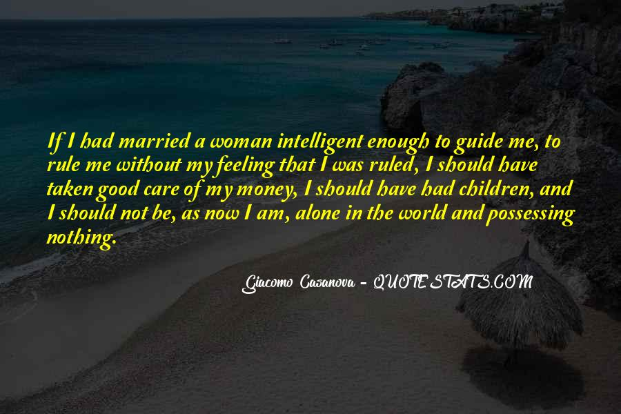To Be A Good Woman Quotes #1034846