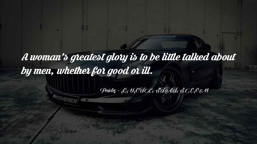 To Be A Good Woman Quotes #23869
