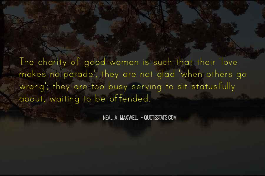 To Be A Good Woman Quotes #25222