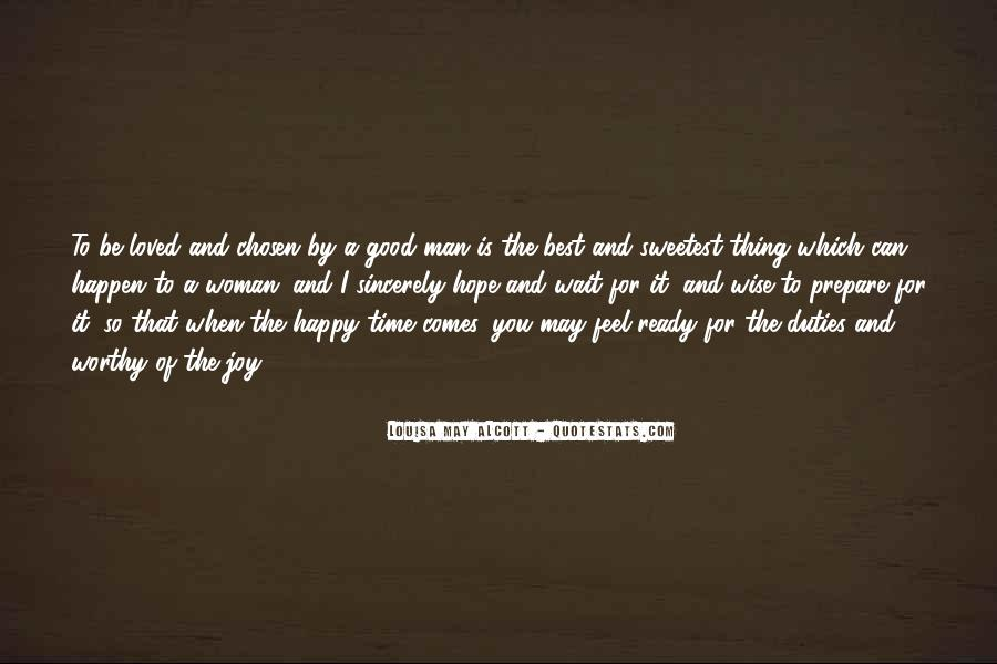 To Be A Good Woman Quotes #446985