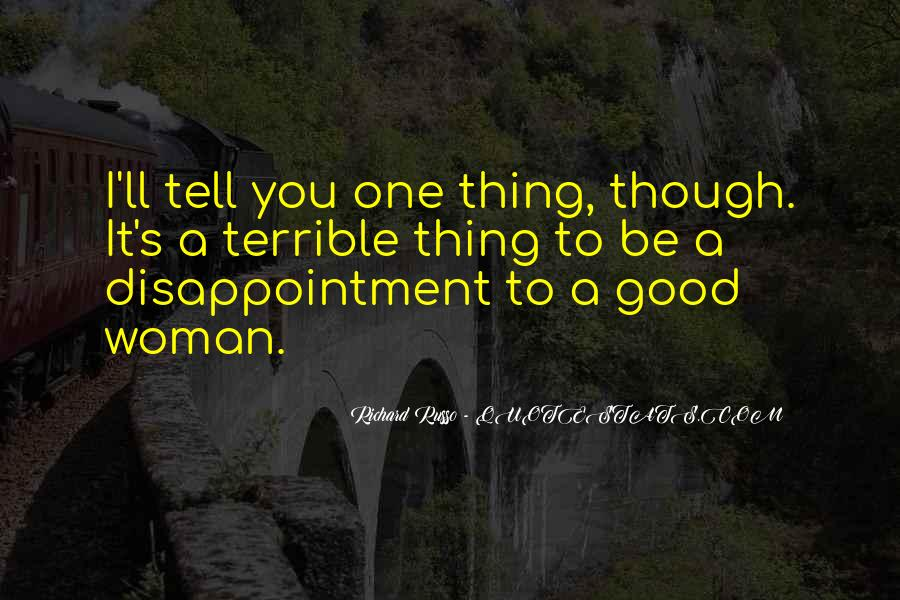 To Be A Good Woman Quotes #845606