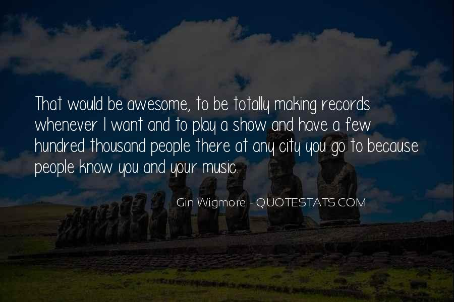To Be Awesome Quotes #138043
