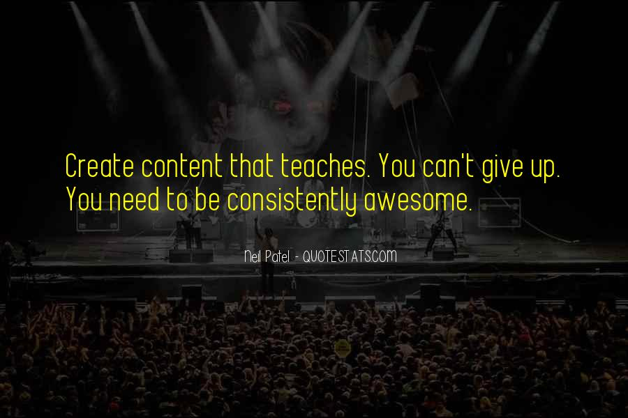 To Be Awesome Quotes #415866