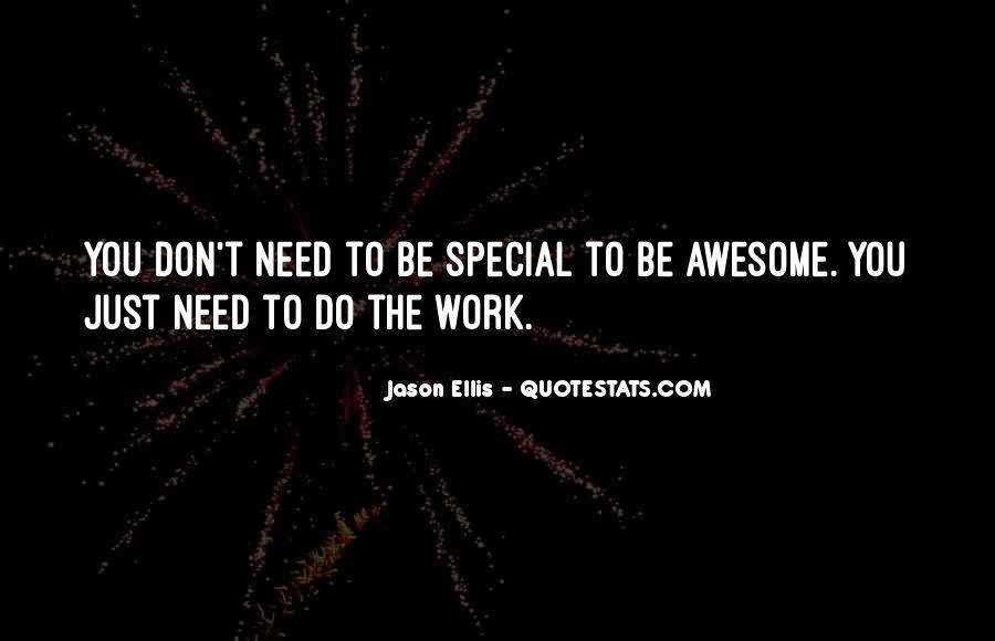 To Be Awesome Quotes #6755