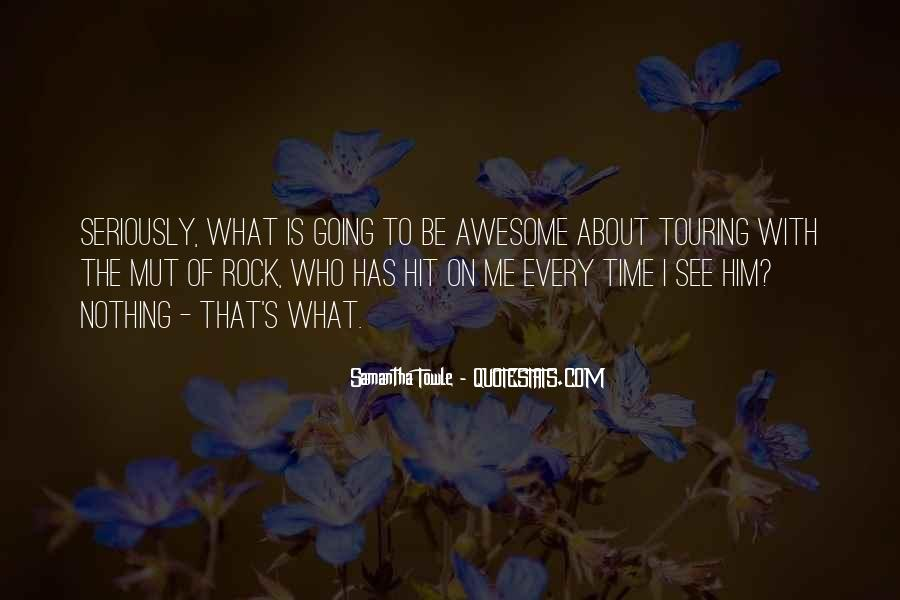 To Be Awesome Quotes #99777