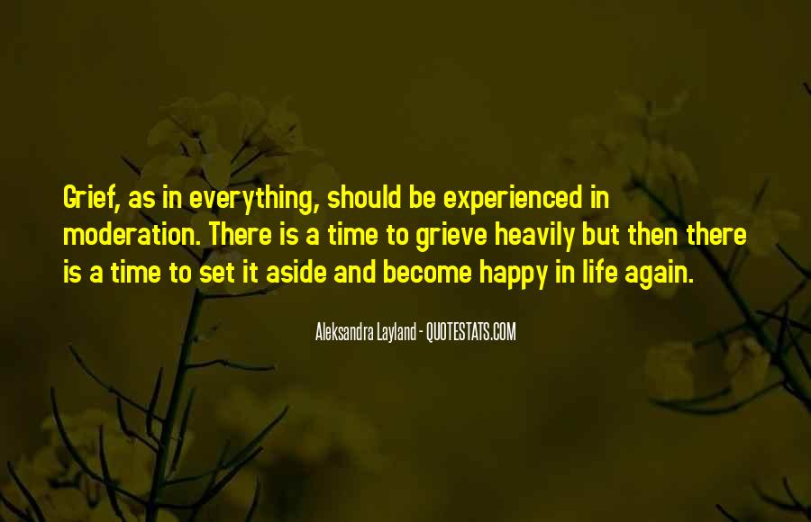To Be Happy Again Quotes #1418885