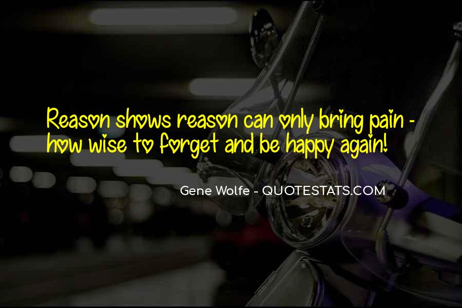 To Be Happy Again Quotes #1540493