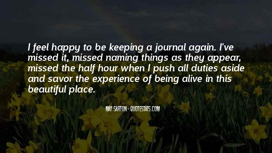 To Be Happy Again Quotes #1545078