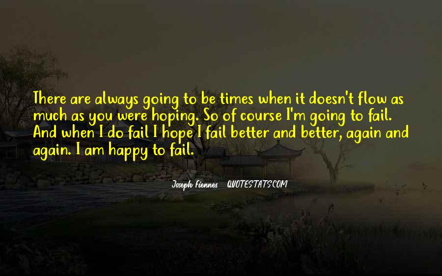 To Be Happy Again Quotes #641339